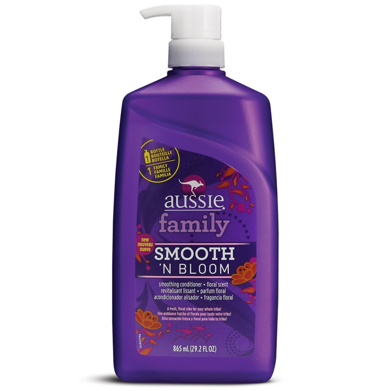 Condicionador Aussie Family Smooth 'N Bloom 865ml