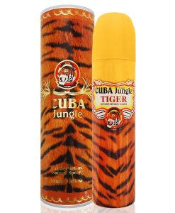 Perfume Cuba Jungle Tiger Eau de Parfum Feminino 100ml
