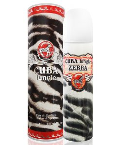 Perfume Cuba Jungle Zebra Eau de Parfum Feminino 100ml