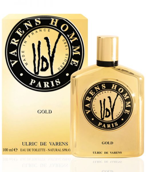 UDV Gold Varens Homme Paris Gold 100 mL