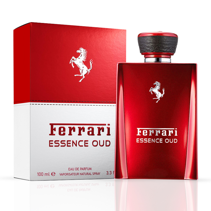 ferrari essence oud eau de parfum perfume masculino 100ml. Black Bedroom Furniture Sets. Home Design Ideas