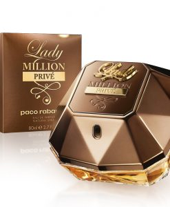 Perfume Lady Million Privé Paco Rabanne Feminino EDP 80ml