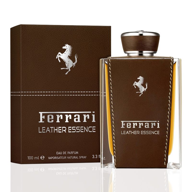 Perfume Ferrari Leather Essence Eau de Parfum Masculino 100ml