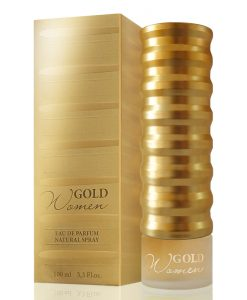 Perfume Gold Women New Brand Eau De Parfum Feminino 100ml