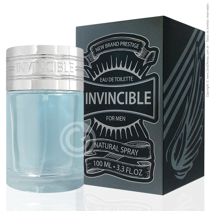 Perfume Invincible New Brand Prestige Eau De Toilette Masculino 100ml