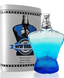 Perfume New Brand World Champion Eau De Toilette Masculino 100ml
