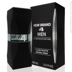Perfume New Brand 4 Men De Toilette Masculino 100ml