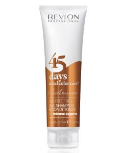 Revlon Revlonissimo 45 Days 2in1 Shampoo & Conditioner Intense Coppers