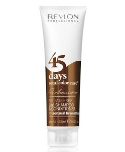 Revlon Revlonissimo 45 Days 2in1 Shampoo & Conditioner Sensual Brunettes