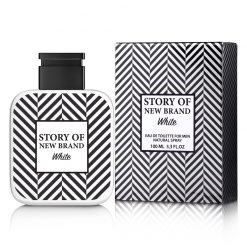 Story of New Brand White Eau de Toilette Masculino