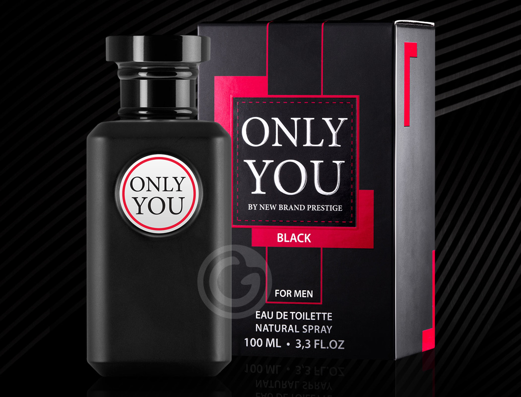 Perfume Only You Black New Brand Prestige Eau De Toilette Masculino