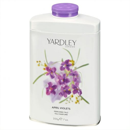April Violets Yardley Talco Perfumado