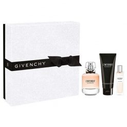 Kit L'interdit Givenchy Eau de Parfum 80ml + 15ml + Body Lotion