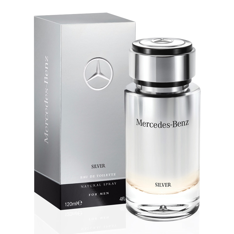 perfume mercedes benz silver eau de toilette masculino. Black Bedroom Furniture Sets. Home Design Ideas