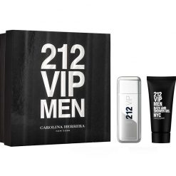 Kit 212 VIP Men Carolina Herrera Eau de Toilette e Gel de Banho