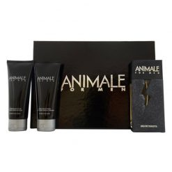 Kit Animale For Men Eau de Toilette + Pós Barba + Gel de Banho