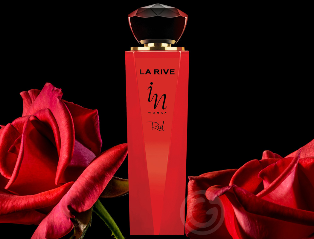 In Woman Red La Rive Eau de Parfum Feminino