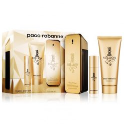 Kit 1 Million Paco Rabanne Eau de Toilette + Travel Size + Shower Gel